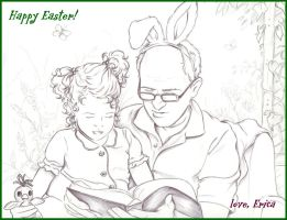 Arthur and Rose by ericahpfa