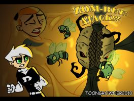 Zombee Attack by toongrowner