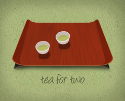 Tea For Two - In progress by ButteryFrog
