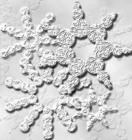 Microscope Snowflakes by midni6htf4iry