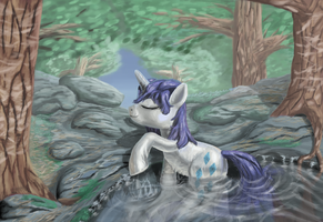 Midday Swim by MoreVespenegas