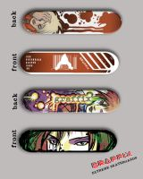 GRAFFIX :skateboard designs: by RIVOLUTION