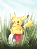 Pikachu by LaminaNati