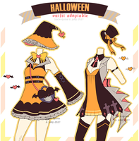 [CLOSED] Halloween Outfit Raffle by Black-Quose