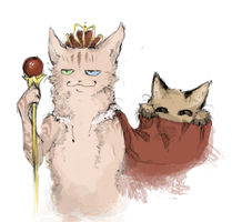King of the cats by T-assel