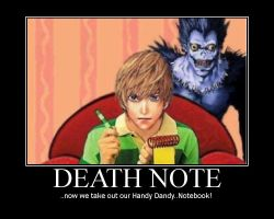 Motivator : Death Note by rubberfetus