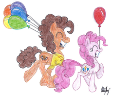 Pinkie and Cheese by highray