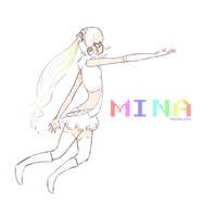 New Vocaloid - Mina by TheMadHattersMistres