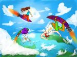 Soaring the Skies, Riding the Wind by bbjbj