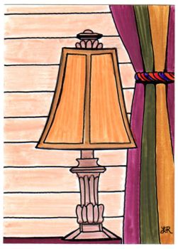 Lamp and Curtain ATC by UrSoMaC