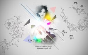 Seohyun Wallpaper :: Alone in the jassy... by DJYoora