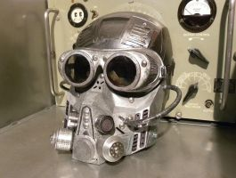 Dieselpunk Shock Trooper Mask MK III by Zilochius