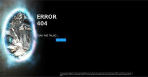 Portal themed 404 page. by ampix0