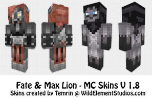 C - Minecraft - MaxCoyote by Temrin