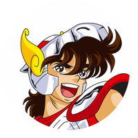 Seiya's Face by MikeBriceno