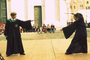 Slytherins' Battle_ Draco x Pansy by equiclubecastello