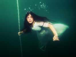 Underwater Ghost (Mermaid Claui) by MermaidClaui