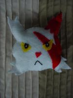 Zangoose Cushion by Zuzyy