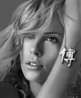charlize breil2 digital paint by JoeDieBestie