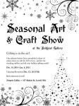 Zeitgeist Gallery: Seasonal Art+Craft Show Poster by katdesignstudio