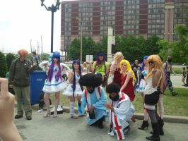 Anime North 2012 - Panty and Stocking Cosplay 2 by RYUSUSKE