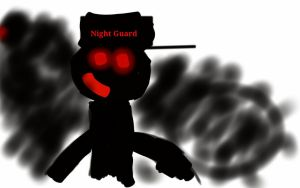 Isaiah the Night Guard by NightmareFreddy1103