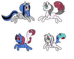 Shade X Shining Spinel foals by hylidia