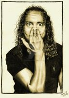 Kirk Hammett by StarvingArtist513