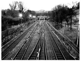 Railway tracks by anotherview