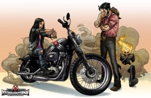 Motorcycle License by PsychoSlaughterman