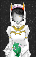 + HS: Kanaya in White Dress + by SerketStalker