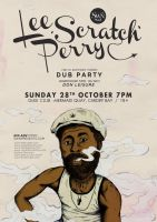 Lee Scratch Perry by nadineballantyne