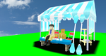 MMD Newcomer Regestration Tent + DL by Valforwing