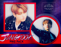 PNG PACK: JungKook (BTS) #6 by Yumi-chan19