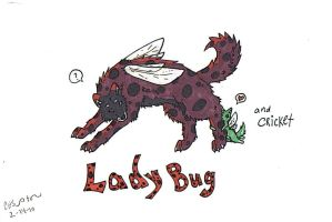 Lady Bug and Cricket by CrossHound213