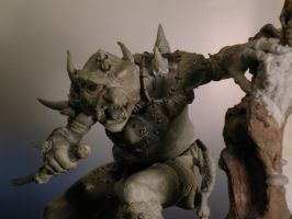 goblin4sculpture work in prog by LucaStrati