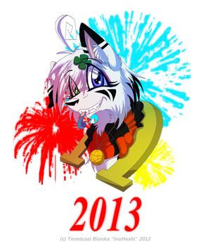 Happy New Year! - 2012-2013 by InuHoshi