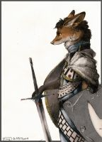 Fox Knight by Zethelius