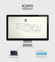 icons wallpaper by raysdesign