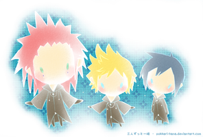 Axel-Roxas-Xion: Always Together by neir-2-you