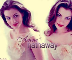 anne hathaway 2 by claudiaV3