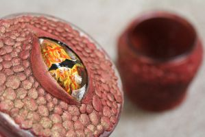 The Eye of Smaug by KlairedeLys