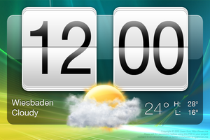 HTC Sense Clock PSD by Livven