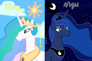 Day and Night by T-Shadow-Dragon