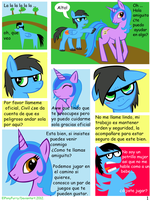 La tarde mas divertida 1/3 by ElPonyFurry