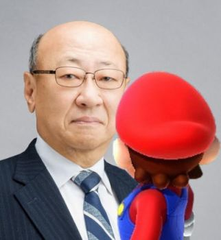 Mario meet the new president of Nintendo by Banjo2015