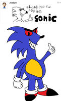 Thank You For Adding SONIC by Stolken
