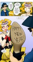 Mimete New Year Greeting by ArthurT2013