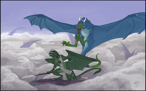 Commission: VipertheWyvern by RocCenere