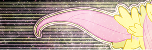 [Banner] Fluttershy's Graceful Neon by Paradigm-Zero